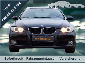 BMW 320d Coupé / NAVI / SCHIEBEDACH bei autobarankauf.at – E.R. Auto Handels GmbH in