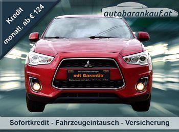 Mitsubishi ASX 1,8 DI-D LP Invite bei autobarankauf.at – E.R. Auto Handels GmbH in