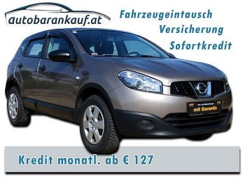 Nissan Qashqai 1,6 16V Visia Start/Stop 2WD bei autobarankauf.at – E.R. Auto Handels GmbH in