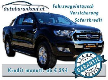 Ford Ranger Doppelkabine Limited 4×4 2,2 TDCi Aut. bei autobarankauf.at – E.R. Auto Handels GmbH in