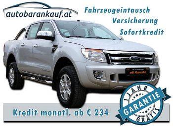 Ford Ranger Doppelkabine Limited 4×4 2,2 TDCi bei autobarankauf.at – E.R. Auto Handels GmbH in