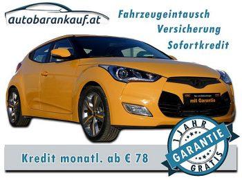 Hyundai Veloster 1,6 GDI Sport bei autobarankauf.at – E.R. Auto Handels GmbH in