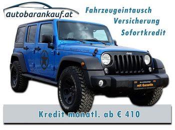 Jeep Wrangler Unlimited Rubicon 2,8 CRD Aut. bei autobarankauf.at – E.R. Auto Handels GmbH in