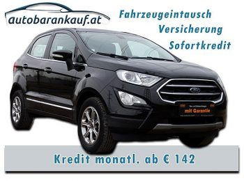 Ford EcoSport 1,0 EcoBoost Titanium **-35% v. NP** bei autobarankauf.at – E.R. Auto Handels GmbH in