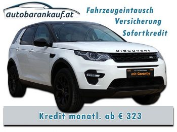 Land Rover Discovery Sport 2,0 SD4 4WD HSE Aut. **VOLLAUSSTATTUNG** bei autobarankauf.at – E.R. Auto Handels GmbH in
